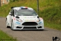 Cyrille Oddoux in the top ten of the Vins Mâcon Rally with the Fiesta R5 EVO RB Motorsport